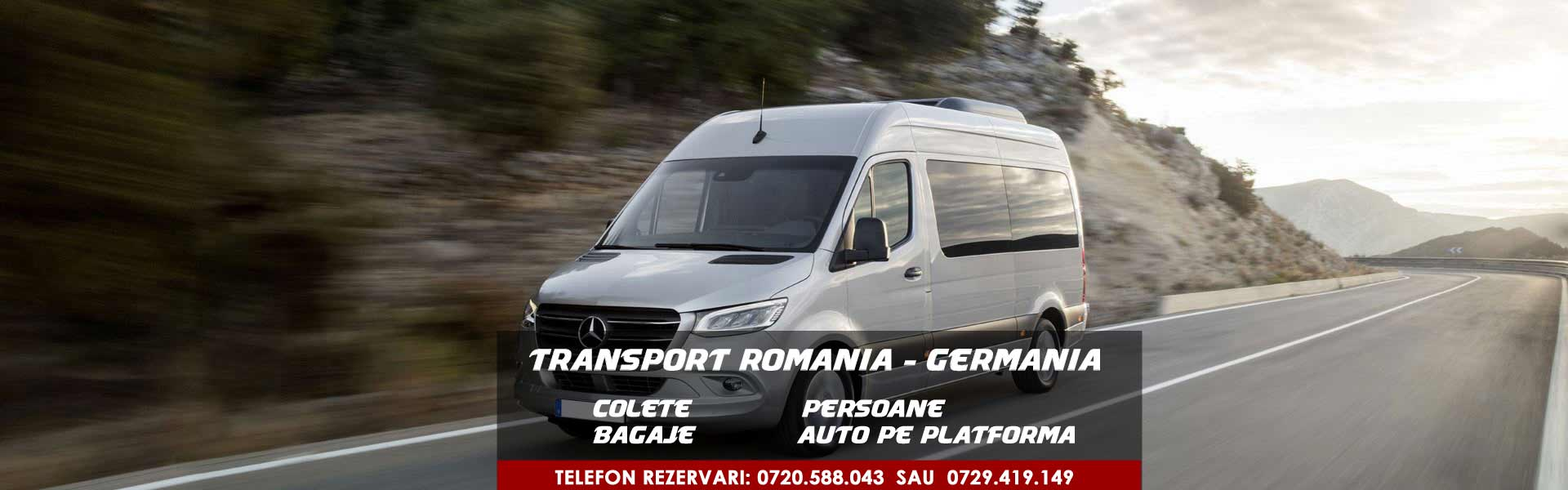 transport persoane Romania - Germania